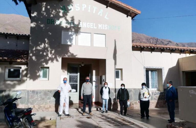 SE OPTIMIZA INFRAESTRUCTURA EN EL HOSPITAL DE MAIMARÁ