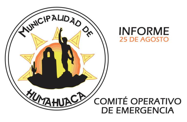 MEDIDAS DEL COMITÉ OPERATIVO DE EMERGENCIA