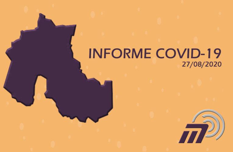 REPORTE DIARIO COVID 19 (27-08)