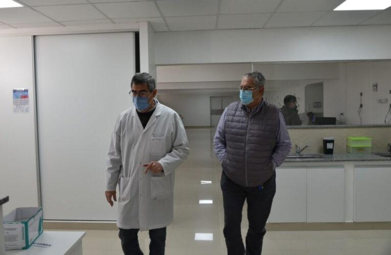 "SE INAUGURA ESTE LUNES EL NUEVO LABORATORIO DEL HOSPITAL ""PABLO SORIA"""