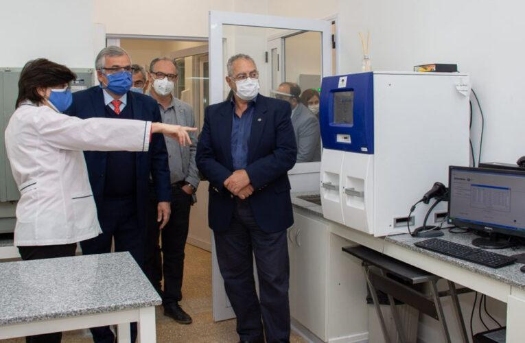 PUSIERON EN FUNCIONAMIENTO LABORATORIO DE BIOLOGÍA MOLECULAR EN HOSPITAL PABLO SORIA