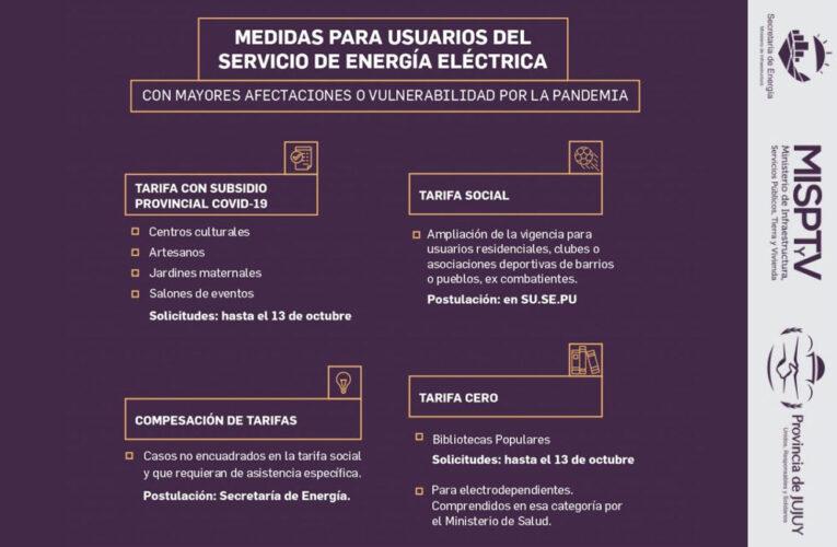 SE RENUEVA Y AMPLÍA EL PAQUETE DE MEDIDAS PARA USUARIOS DE SERVICIO ELÉCTRICO CON MAYOR AFECTACIÓN Y VULNERABILIDAD