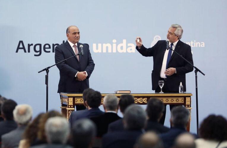 DESDE EL GOBIERNO NACIONAL  SE CONFIRMÓ LA CANCELACIÓN DEL ACTO DEL 17 DE OCTUBRE